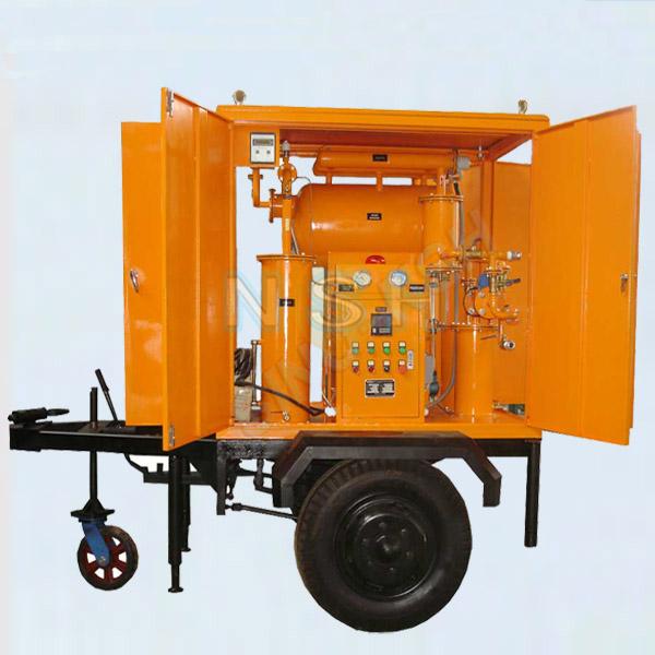 润滑油拖车式滤油机