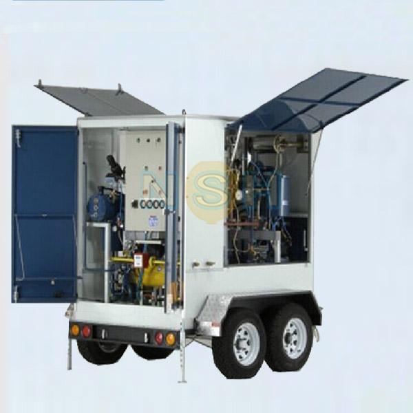 透平油拖车式滤油机