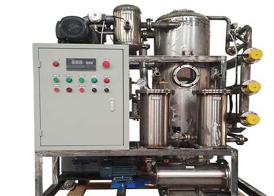 聚结式不锈钢滤油机